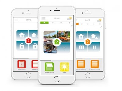 Smart Home System Somfy Connexoon.